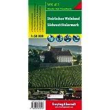 Freytag Berndt Wanderkarten, WK 411, Steirisches Weinland - Südwest-Steiermark - Maßstab 1:50.000 (freytag & berndt Wander-Rad-Freizeitkarten)