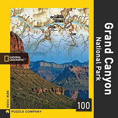 New York Puzzle Company - National Geographic Grand Canyon - 100 Piece Jigsaw Puzzle: Toys & Games [5Bkhe0507430]