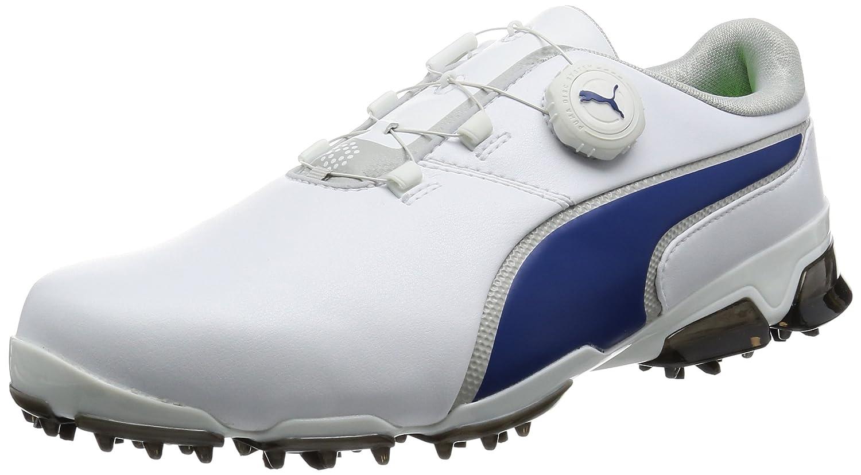 [プーマゴルフ] ゴルフシューズ TITANTOUR IGNITE DISC JP 189413 B01M3XXNRC 28.0 cm プーマ ホワイト/フレンチ ブルー/グレー バイオレット