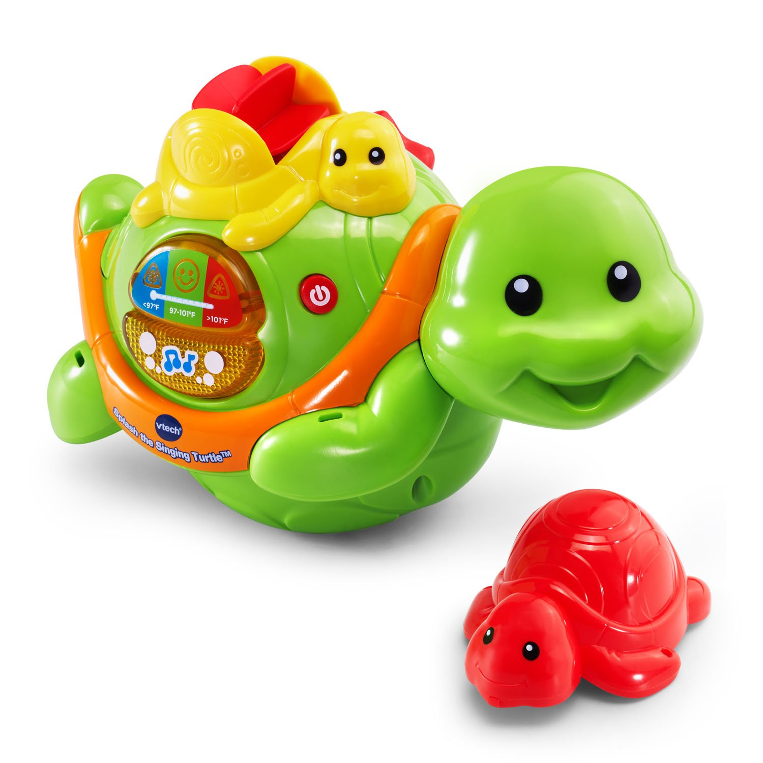 Amazon VTech Splash the Singing Turtle Toys & Games