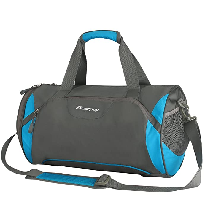 Travel Duffel Bag With Shoe Compartment Trendsetter Overnight Swimming Gym