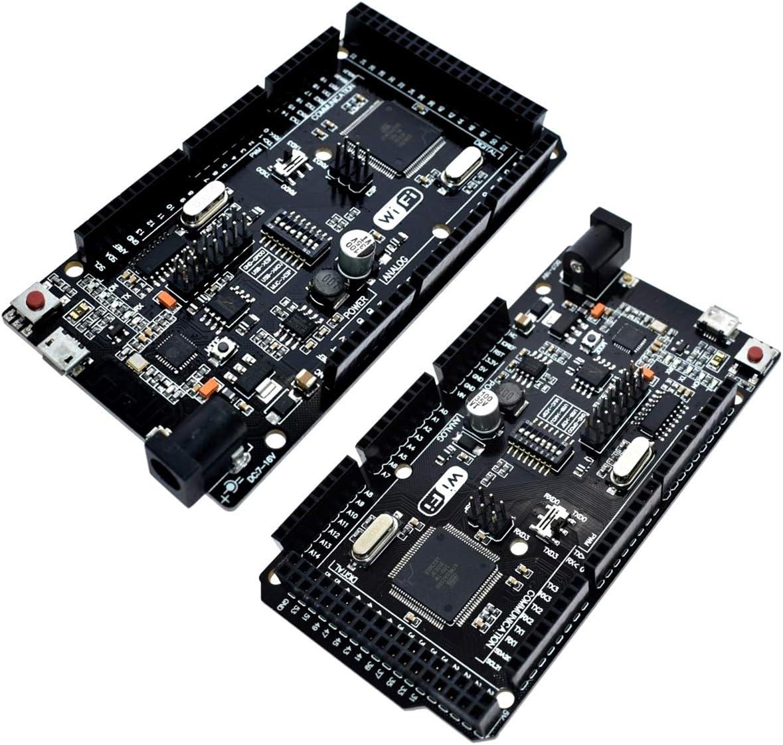 SOONHUA Mega+WiFi R3 ATmega2560+ESP8266 32Mb Memory USB-TTL CH340G