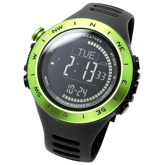 [Lad Weather] - Reloj con sensor acelerómetro de 3 ejes, con Aviso de