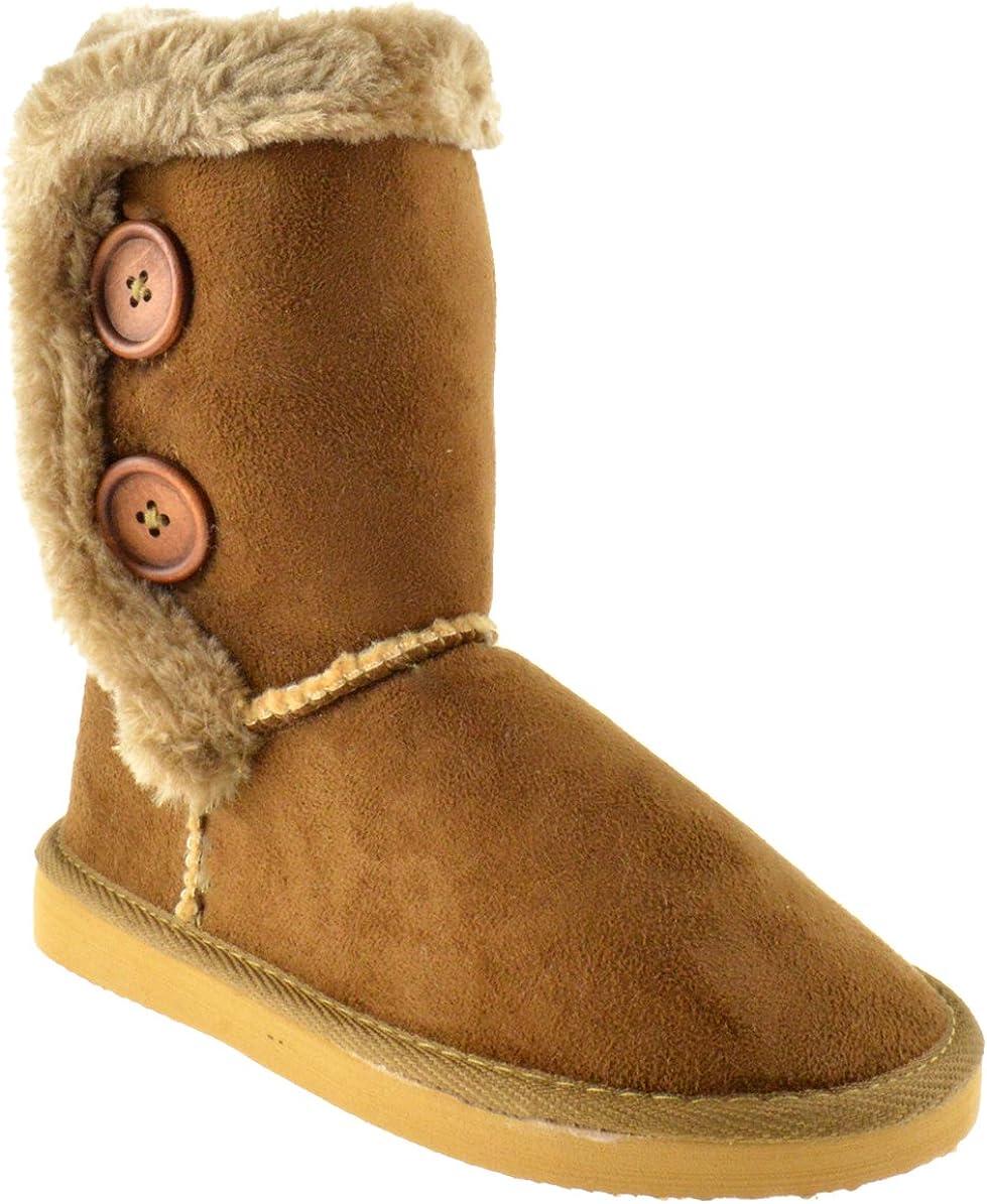 Lulu 52 Little Girls Shearling Boots
