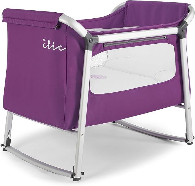 Baby Clic - Minicuna Swing berenjena