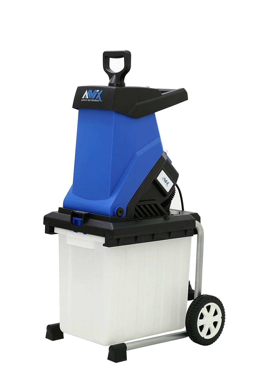 Amazon.com : AAVIX AGT308 15 Amp Electric Chipper & Shredder, Blue ...