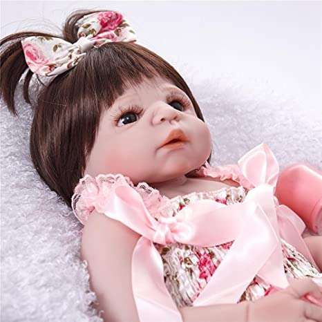 Amazon.com: Reborn bebé muñeca realista princesa Small Girl ...