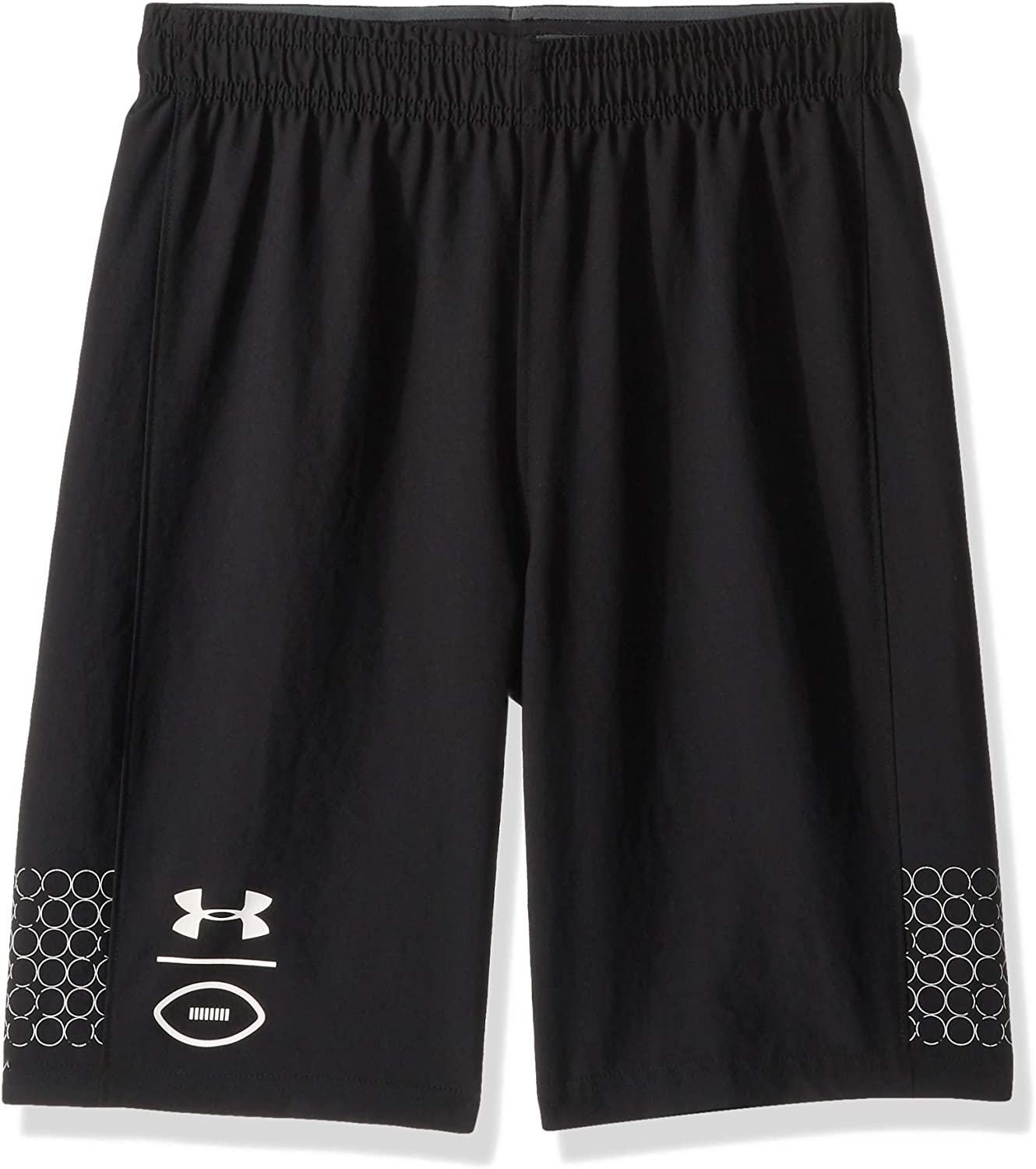 gran variedad de estilos nuevo alto apariencia estética Amazon.com : Under Armour Boys' Flag Football Shorts : Clothing