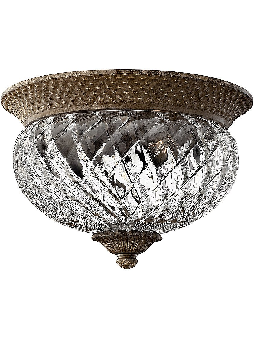 Hinkley 4102BB Traditional Two Light Flush Mount from Plantation collection  in Brassfinish    Flush Mount Ceiling Light Fixtures   Amazon comHinkley 4102BB Traditional Two Light Flush Mount from Plantation  . Hinkley Lighting Plantation 5 Light Chandelier. Home Design Ideas
