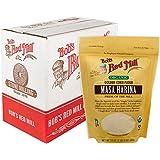 Bob's Red Mill Organic Masa Harina Corn Flour, 24-ounce (Pack of 4)