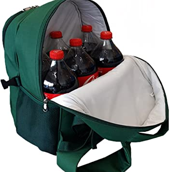 Cool Bag Backpack Cooler in Kensington Green 28 Litres: Amazon.co ...