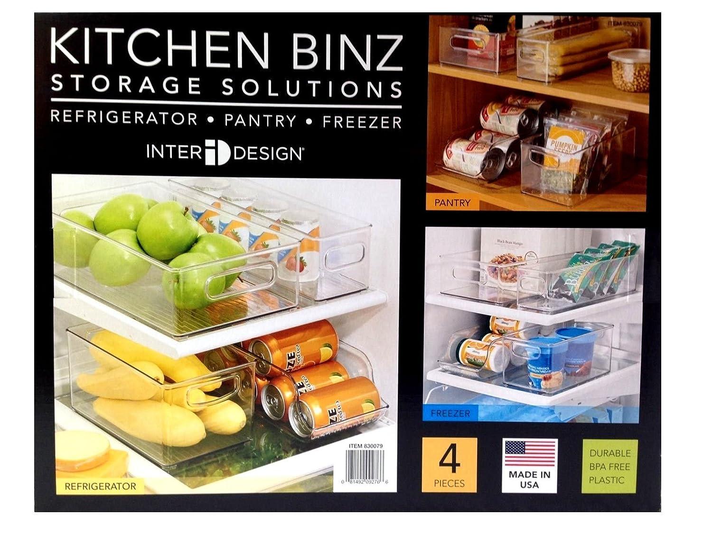 INTERDESIGN nevera y congelador de alimentos/bebidas caja de ...