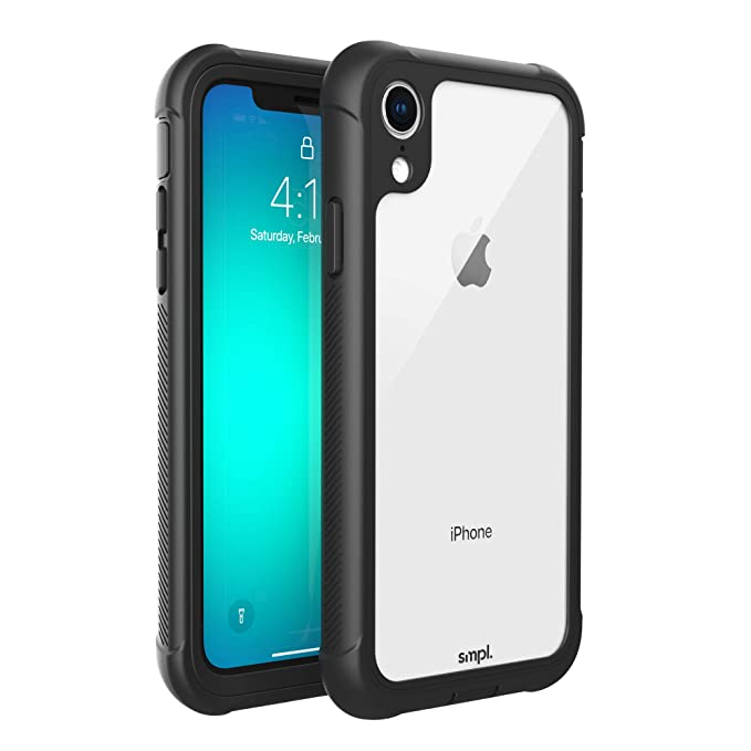 official photos 95e3f 5916a SMPL iPhone Xr Drop Proof, Lightweight, Protective Wireless Charging  Compatible iPhone Case - Black