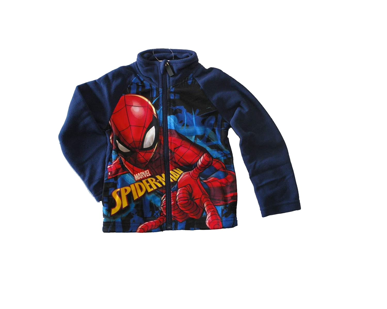 Spiderman Gilet Zipp/é Polaire