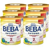 Nestlé雀巢 BEBA贝巴 OPTIPRO 儿童奶粉(2岁+)可重复密封 附带量匙 6罐装(6*800g)