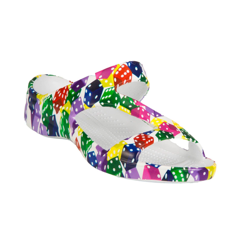 DAWGS Womens Arch Support Z Sandals B01F9MT1LC 10 B(M) US|Dice