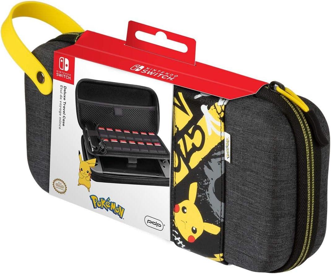 PDP - Funda Travel Case Pikachu Elite (Nintendo Switch): Amazon.es: Videojuegos
