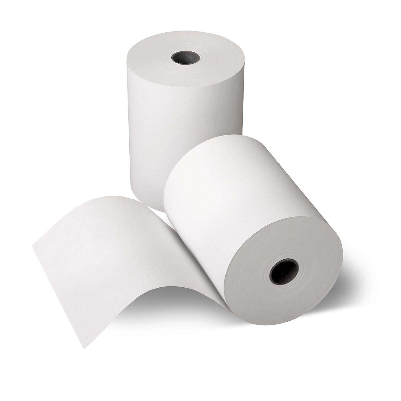 50 Thermorollen 80mm x 80m x 12mm [Ø 80mm] - Thermopapier Bonrolle - 80m lang - 50 Stück Kassenbon24