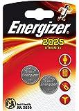 2 pcs ENERGIZER CR 2025 CR2025 pila a bottone al litio