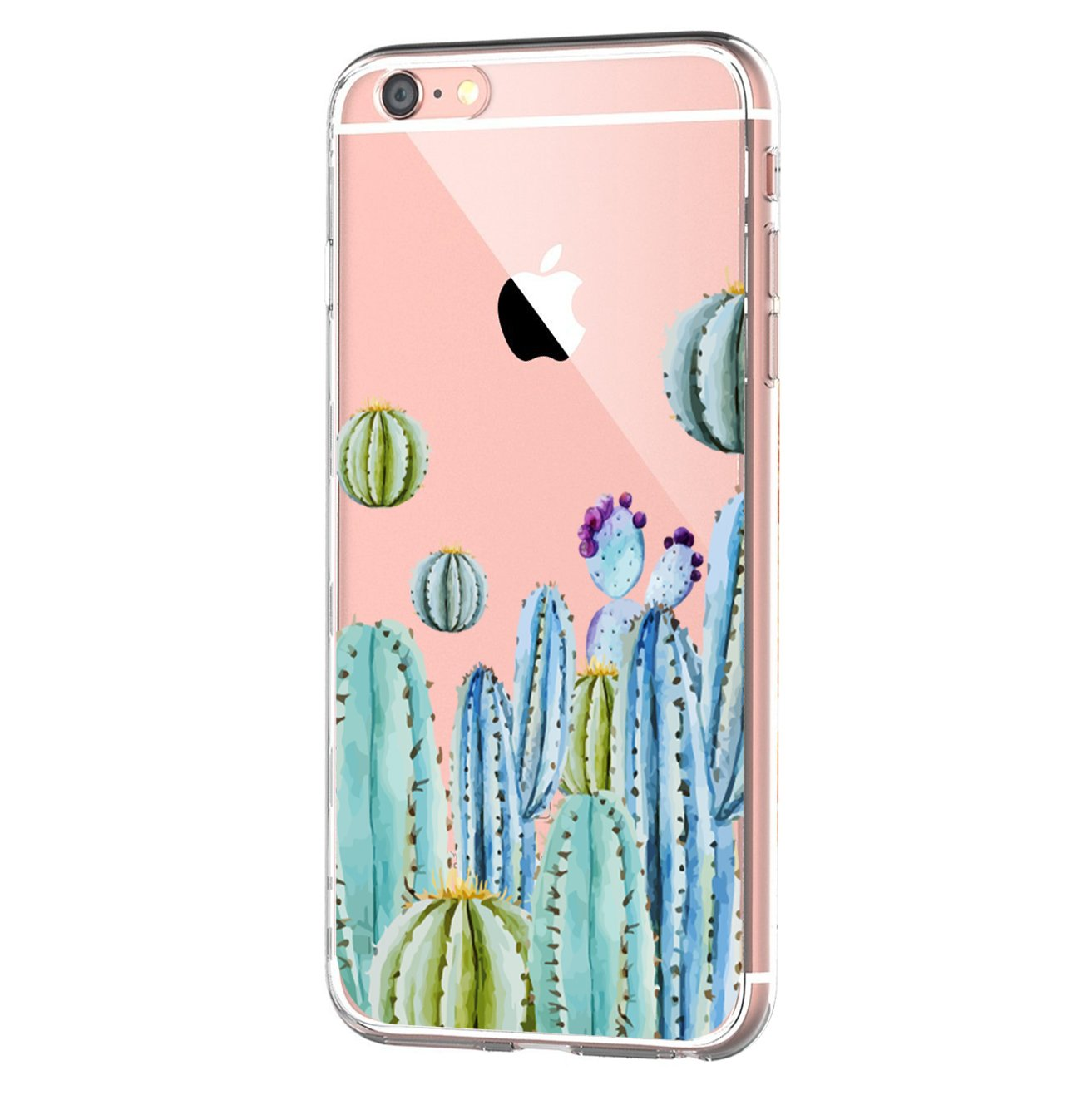 vanki iPhone 6 iPhone 6s hülle Tasten Fonts Schutzhülle Clear Case Cover Bumper Anti-Scratch TPU Silikon Durchsichtig Handyhülle für iPhone 6 Plus/6s Plus