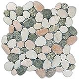 Mixed Island Pebble Tile 1 sq.ft