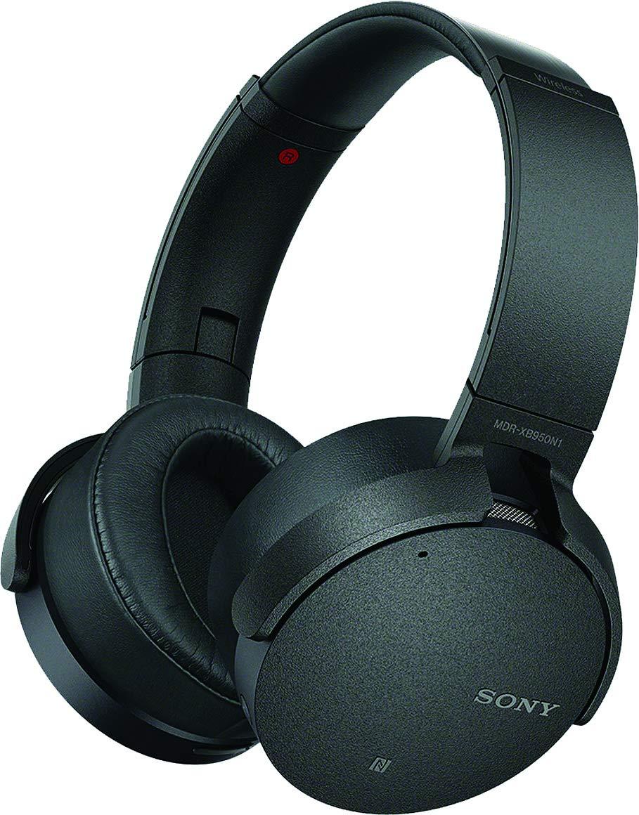 Sony XB950N1 Extra Bass Wireless Noise Canceling Headphones, Black by Sony