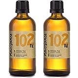 Naissance Aceite Esencial de Lavanda n. º 102 – 200ml (2x100ml) - 100% puro, vegano y no OGM GMO