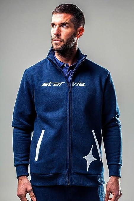 Chaqueta Padel StarVie Blue Challenger: Amazon.es: Deportes ...