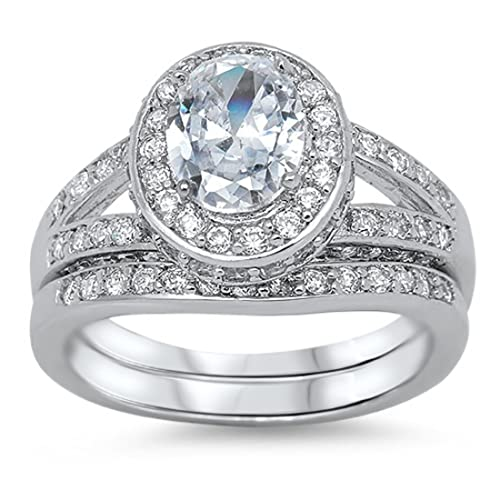 Rose Gold Plated Blue Sapphire CZ Claddagh .925 Sterling Silver Ring Sizes 4-11