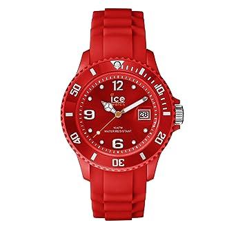 5ca2ea8c480e2 Ice-Watch - Ice Forever Red - Montre Rouge pour Femme avec Bracelet en  Silicone