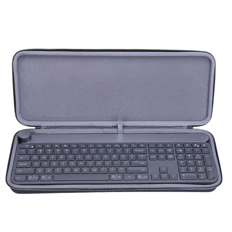 XANAD Funda rígida para teclado inalámbrico Logitech Craft, bolsa de transporte: Amazon.es: Electrónica