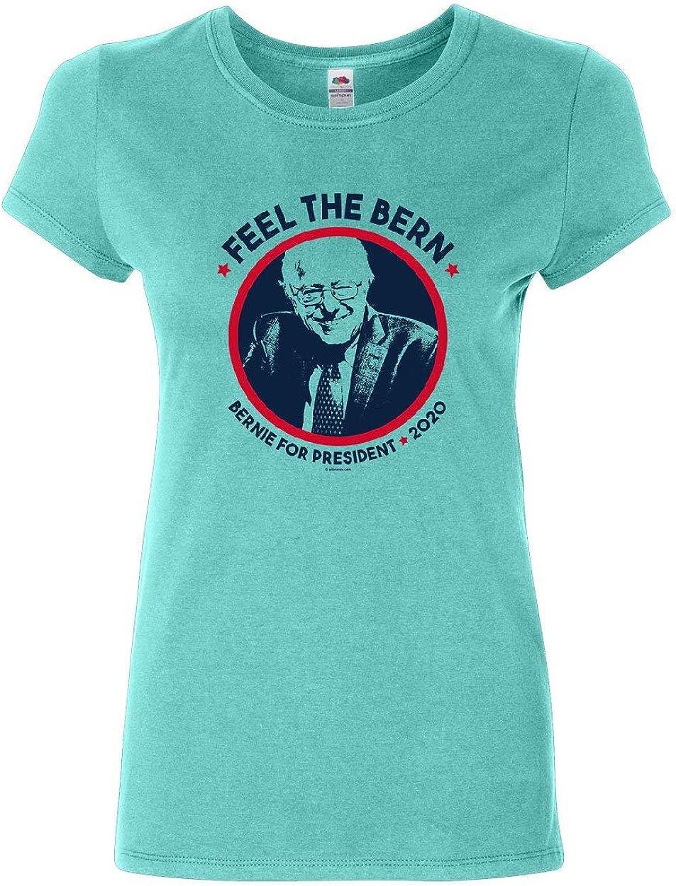 Bernie Pink 2020 Sanders T-shirt Funny USA Election Vote Feel The Bern President