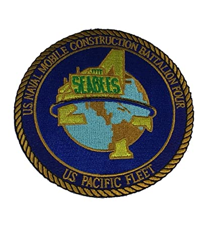 US NAVAL MOBILE CONSTRUCTION BATTALION FOUR NMCB-4 US PACIFIC FLEET 4