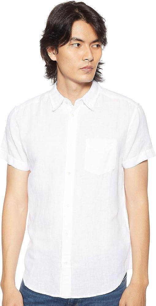 Wrangler SS 1pkt Shirt Camisa, Blanco (White O12), Medium para Hombre: Amazon.es: Ropa y accesorios