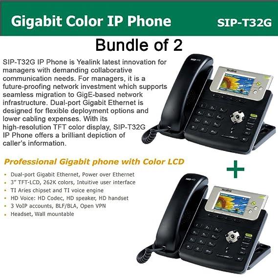 Yealink T32G Gigabit Color IP Phone: Amazon in: Electronics