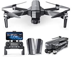 Ruko F11Gim Drones with Camera for Adults, 2-Axis Gimbal 4K EIS Camera, 2 Batteries 56Mins Flight Time,Brushless Motor, 5GHz