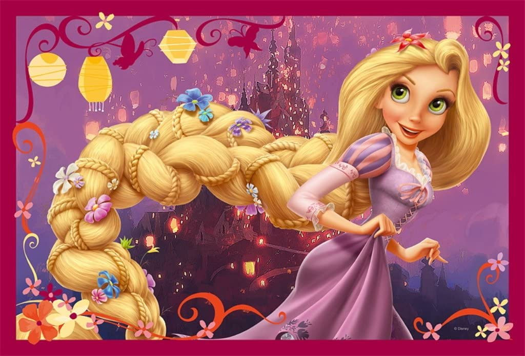 Trefl Disney Tangled Rapunzels Braid Puzzle 160 Pieces