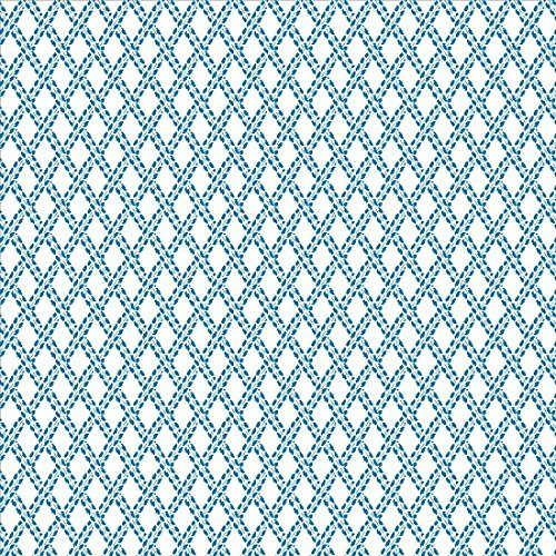 Con-tact 09F-C9Y43-12 Arbor Marina Weave Contact Paper, Blue