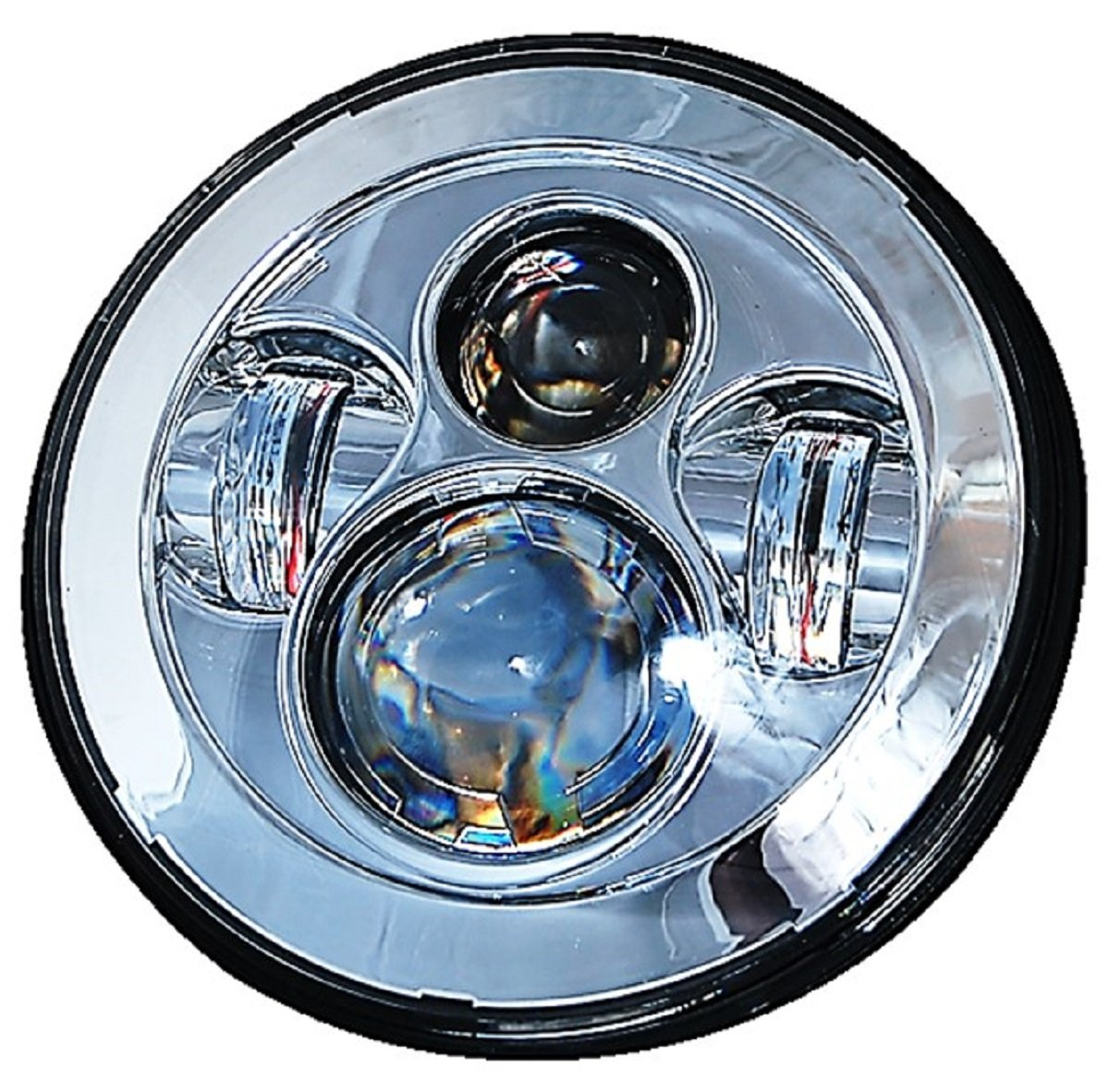 Octane Lighting 7 Motorcycle Chrome Projector