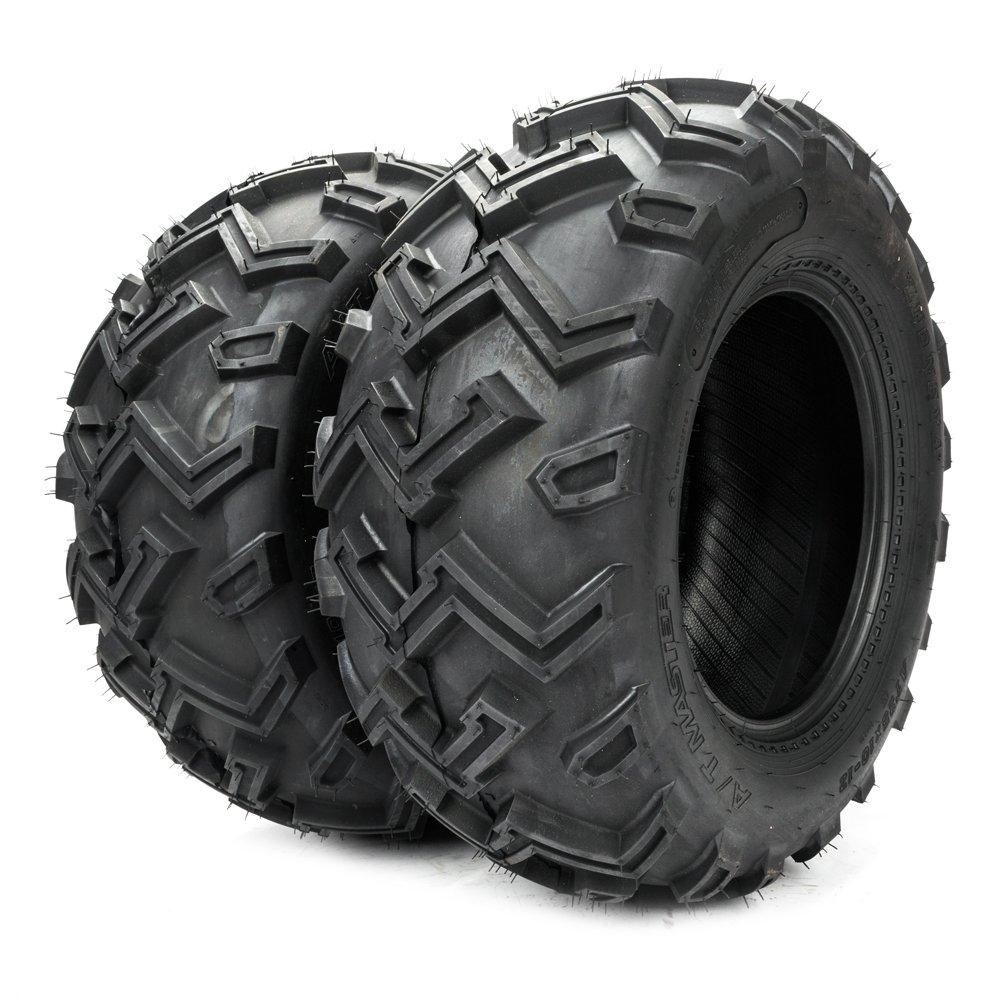 Set of 2 25x10-12 ATV Tires Rear 6PR P306B 25x10.00-12 ATV/UTV Tires