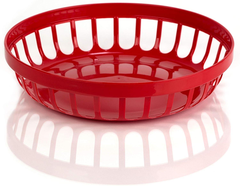Cuenco de pl/ástico para panecillos color rojo Kimmel 21-000-2403