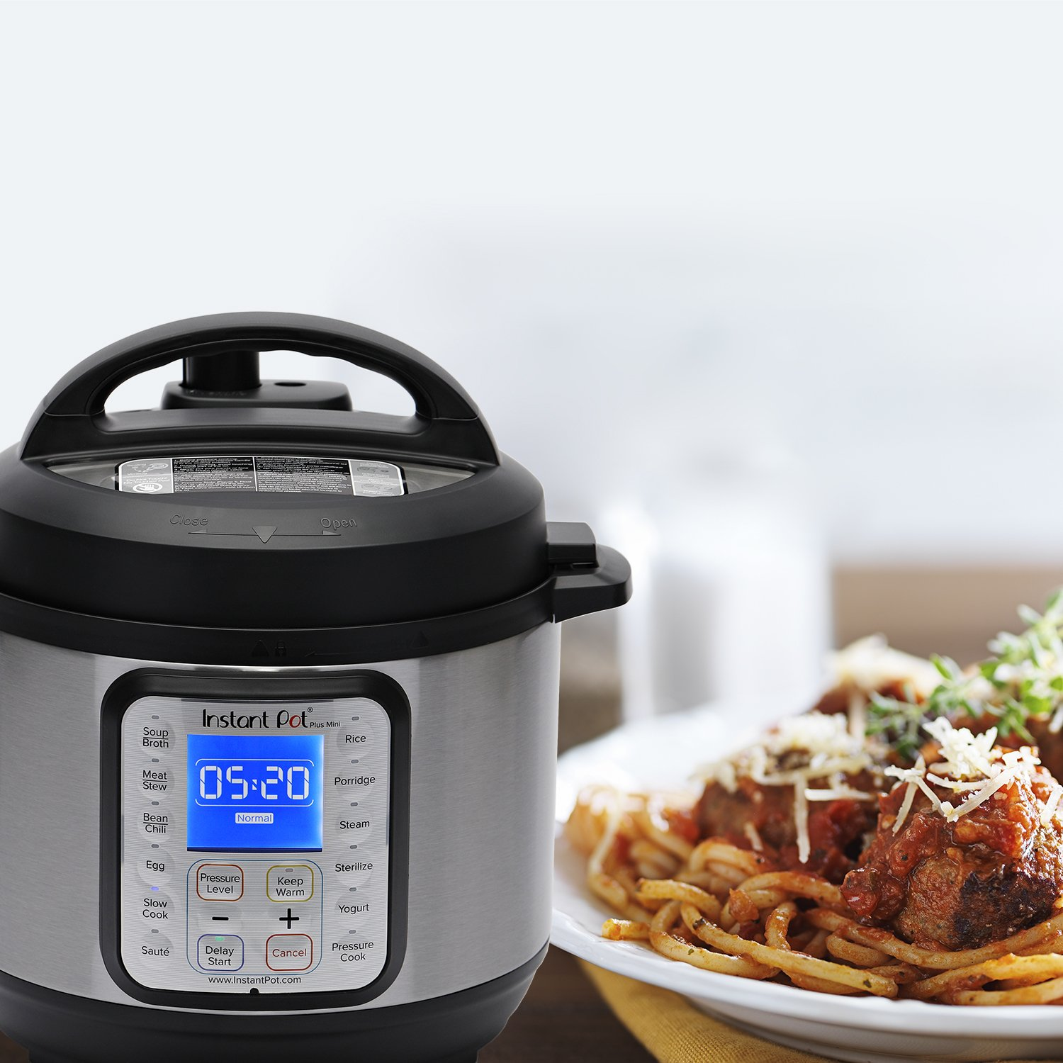 Instant Pot DUO Plus 3 Qt 9-in-1 Multi- Use Programmable Pressure Cooker, Slow Cooker, Rice Cooker, Yogurt Maker, Egg Cooker, Sauté, Steamer, Warmer, and Sterilizer by Instant Pot (Image #9)