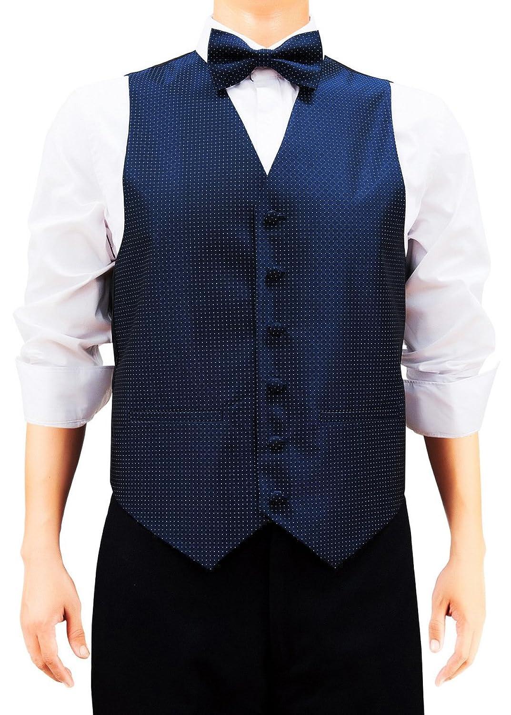 Retreez Herren Check Strukturierte Woven Weste mit Krawatte, Fliege, Pocket  Geschenk-Box Set, quadratisch: Amazon.de: Bekleidung