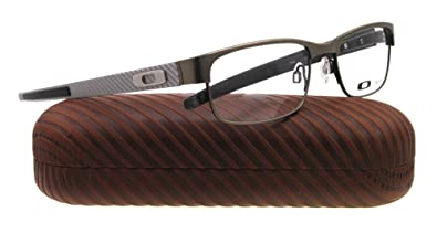 15bd8a67b6 Amazon.com  Oakley Carbon Plate OX5079-0253 Eyeglasses Light Clear ...