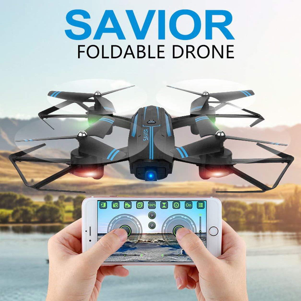 Dailyinshop Folding Drone 720P Kamera-APP Fern WiFi Höhe Quadcopter pflegen