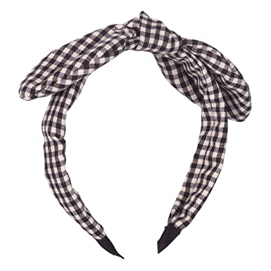 Black and White Knot Alice Band - Women Headband  Amazon.co.uk  Clothing 1d3c14387a7