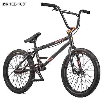 KHE Bmx bicicleta Silencer BL Oil Slick Negro solo 10,0 kg.