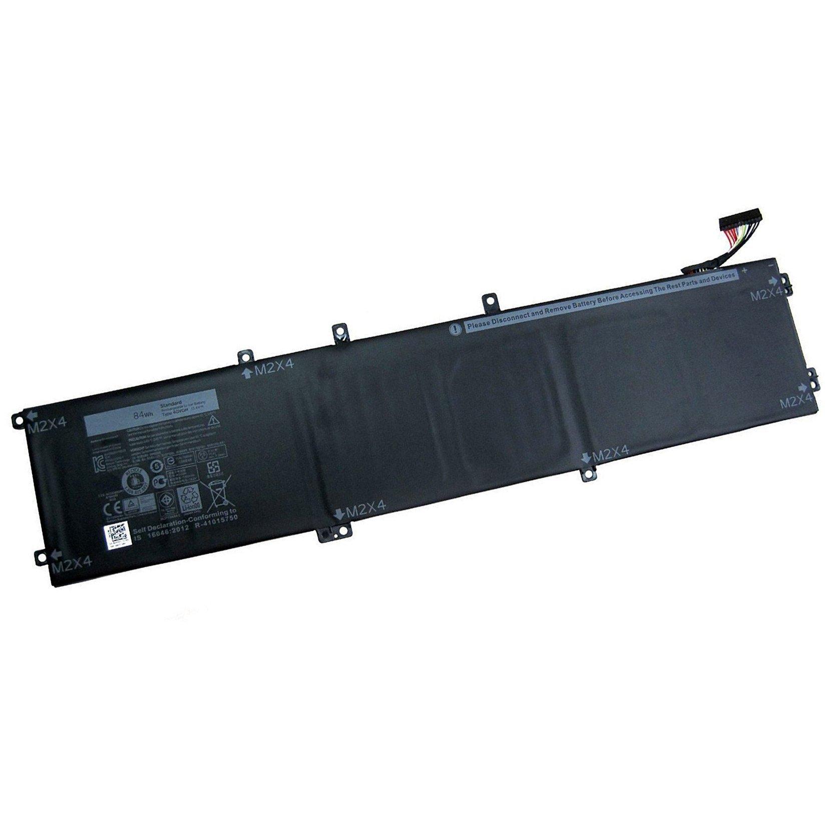Dentsing 11.1V 84Wh 4GVGH 1P6KD Laptop Battery for Dell  XPS 15 9550
