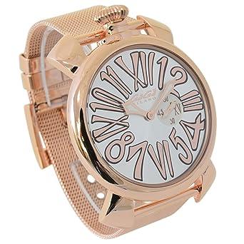new product be4cd a4b5e Amazon   (ガガミラノ)GAGA MILANO ガガミラノ 腕時計 ...