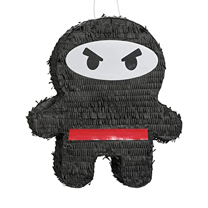 Amazon.com: Ninja Warrior – Piñata, diseño de: Toys & Games